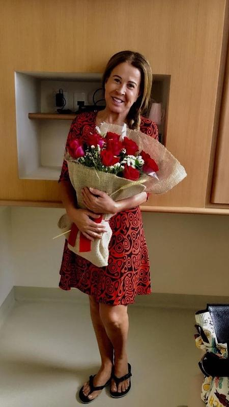 Zilu Camargo recebe alta do hospital Sírio-Libanês, em São Paulo - Reprodução/Instagram/zilucamargooficial