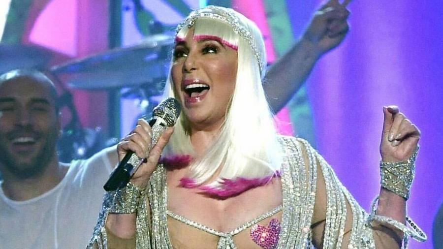 Cher em performance no prêmio da revista Billboard - Reprodução/Instagram