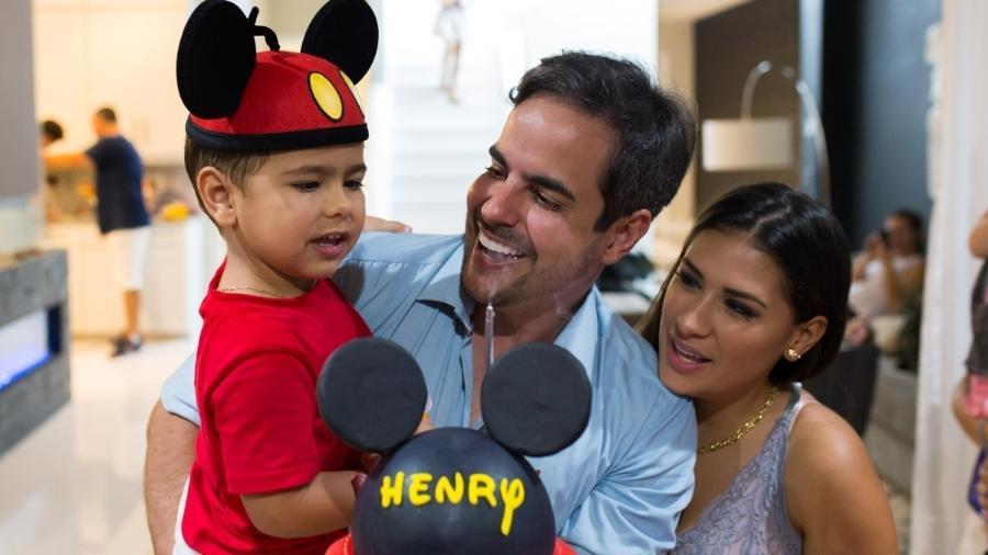 Henry, filho de Simone e Kaká Diniz, fez 3 anos e ganhou festa em Orlando (EUA) - Diogo Alexandre/Brazil News Internacional