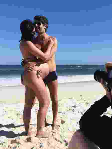 Carol Castro com o namorado, Felipe Prazeres - Reprodução/Instagram