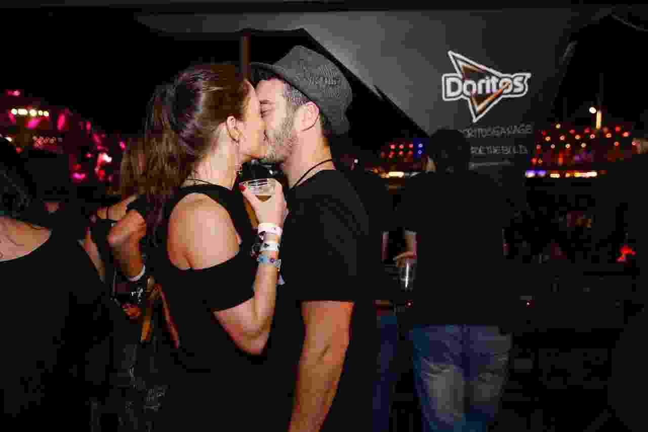 Marcos Veras e Rosanne Mulholland assumem namoro no RiR - Divulgação