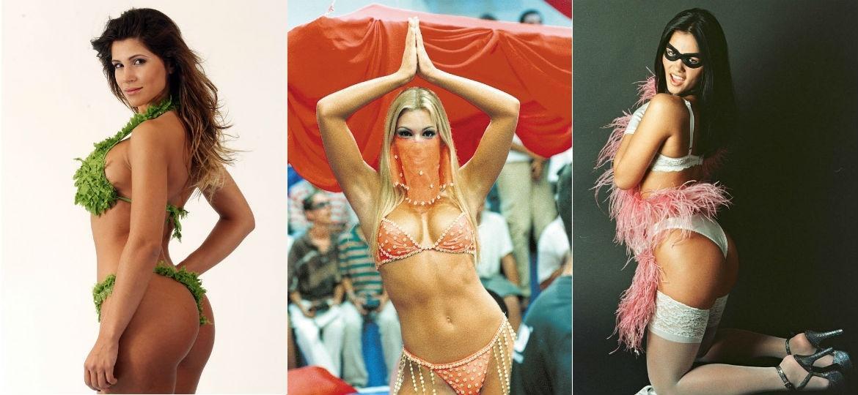 Samambaia, Feiticeira e Tiazinha: elas explodiram como sexy simbols e depois rejeitaram a fama que as consagrou - Fotomontagem/UOL
