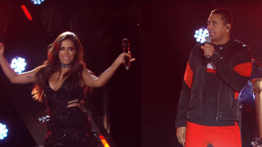 Anitta lança música nova com o Harmonia do Samba - Reprodução