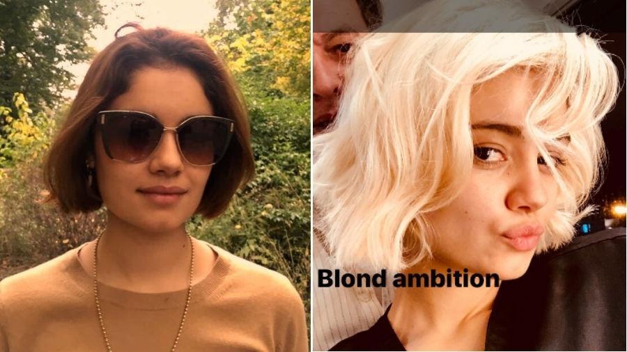 Sophie Charlotte: antes e agora, com seu novo visual - Reprodução/Instagram