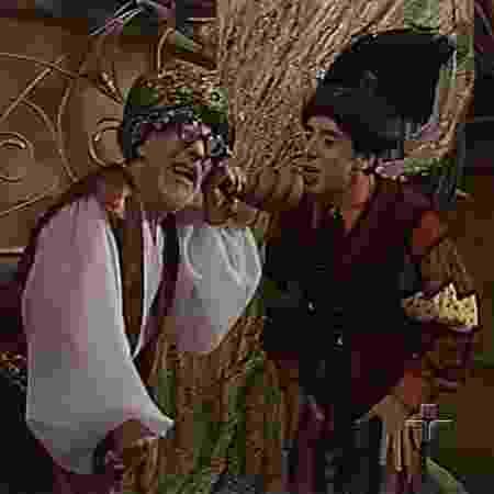 """Henrique César interpretou Eugênio, o Gênio, em """"Castelo Rá-Tim-Bum"""" (1994) - Reprodução/TV Cultura - Reprodução/TV Cultura"""