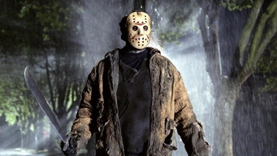 """Jason em cena de """"Sexta-feira 13"""" - Reprodução"""
