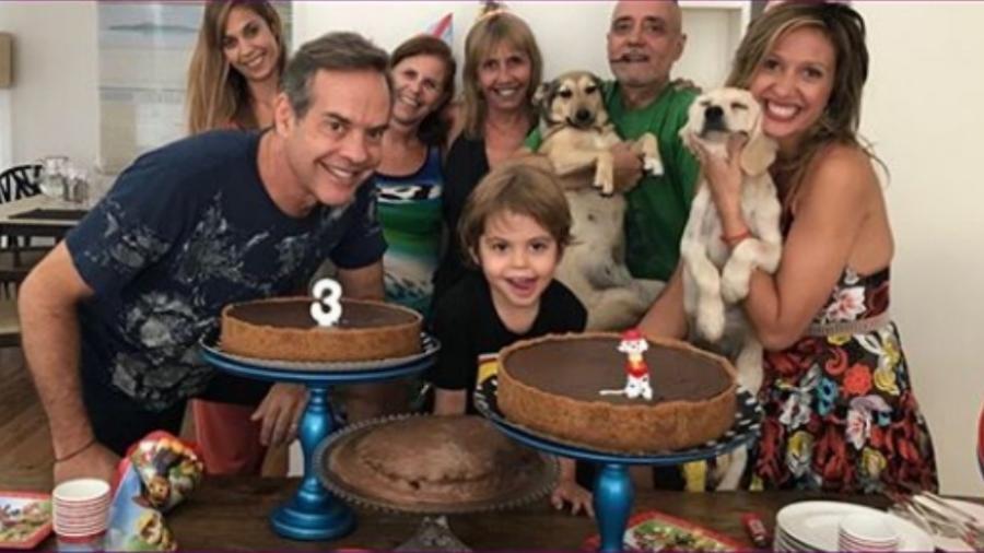 Luisa Mell comemora aniversário do filho - Reprodução/Instagram/luisamell
