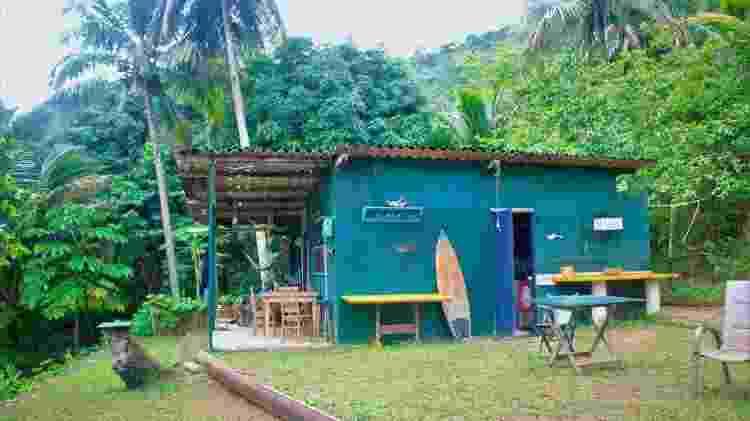 Casal vive na única casa que existe n Ilha das Couves, sem luz elétrica - Arquivo pessoal - Arquivo pessoal