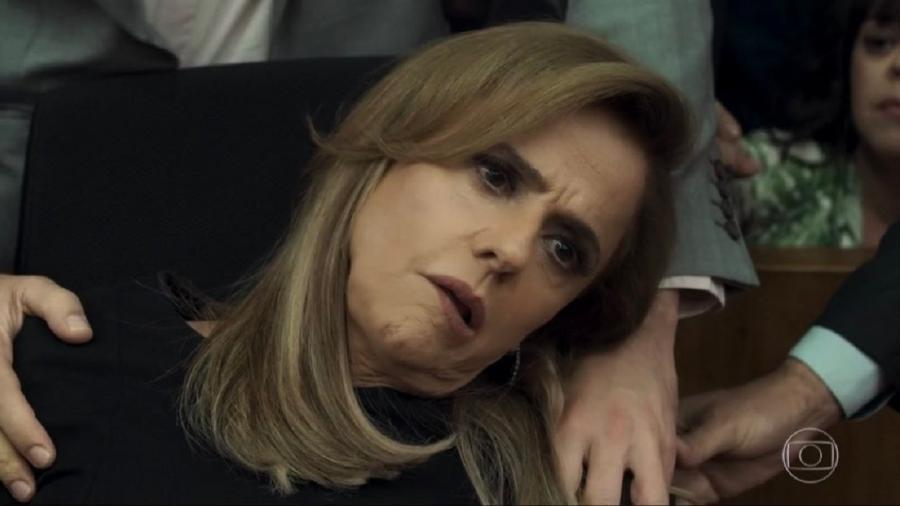 """Na web, Marieta Severo é elogiada por atuação após cena de AVC em """"Outro Lado"""" - Reprodução/TV Globo"""