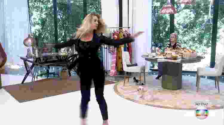 """Leticia Spiller roda sem parar no """"Mais Você"""" - Reprodução/TV Globo - Reprodução/TV Globo"""