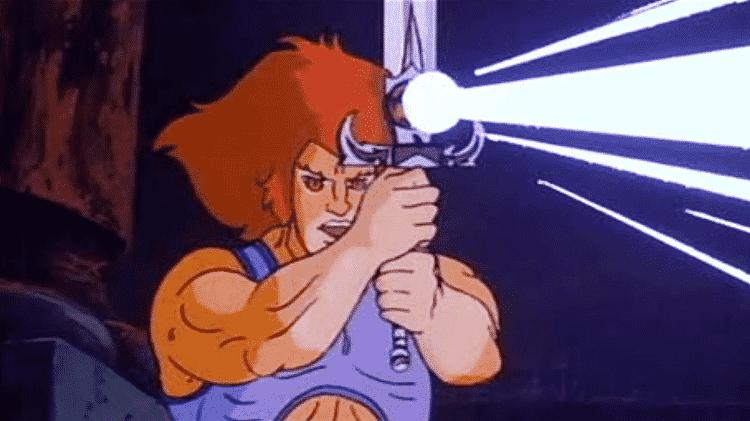 """Cena de """"ThunderCats"""", que foi produzido entre 1985-1989 - Reprodução - Reprodução"""