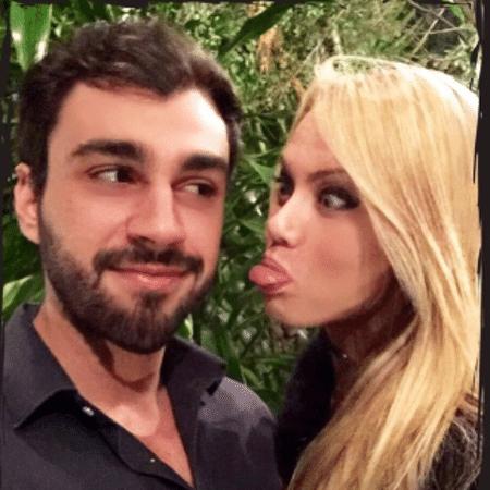 Rogério Gomes e Ellen Rocche - Reprodução/Instagram
