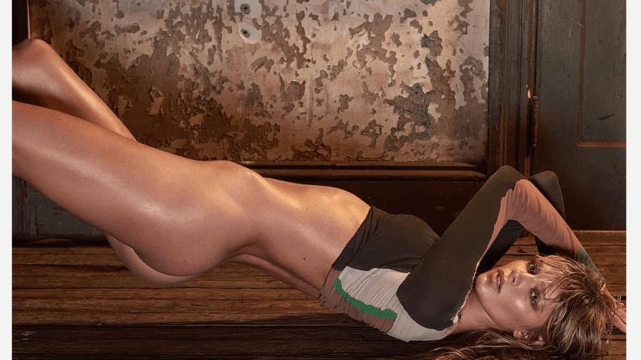 A modelo canadense Danielle Knudson, namorada do jogador Alexandre Pato - Reprodução/Instagram