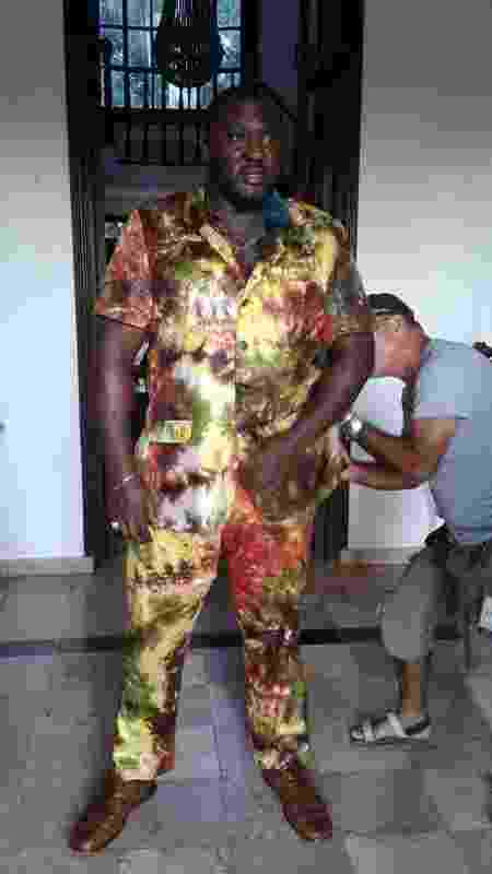 O ator Nonso Anozie grava filme em Havana (Cuba) com Rihanna e Donald Glover - Reprodução - Reprodução