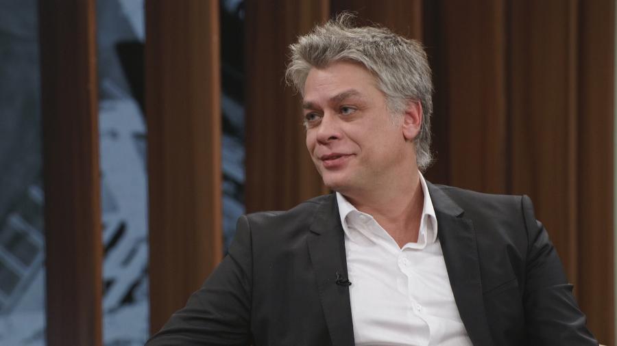 Fabio Assunção no programa de Pedro Bial - Divulgação/Globo