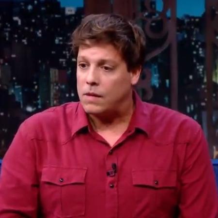"""Fábio Porchat foi entrevistado no """"The Noite"""" - Reprodução/SBT"""