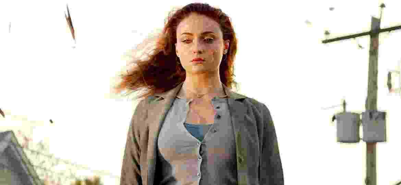 Sophie Turner como Jean Grey em X-Men: Fênix Negra - Divulgação