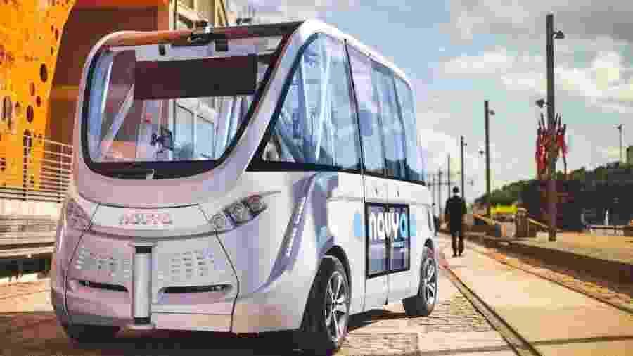 Transporte autônomo Navya  - Divulgação/Navya