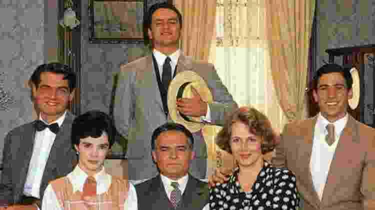 O elenco da versão de Éramos Seis no SBT - Reprodução
