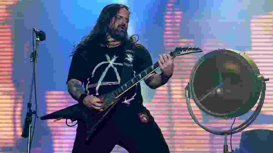 """Andreas Kisser, guitarrista da banda Sepultura, comanda junto com o baixista Paulo Xisto o """"SepulQuarta"""" - WILTON JUNIOR/ESTADÃO CONTEÚDO"""