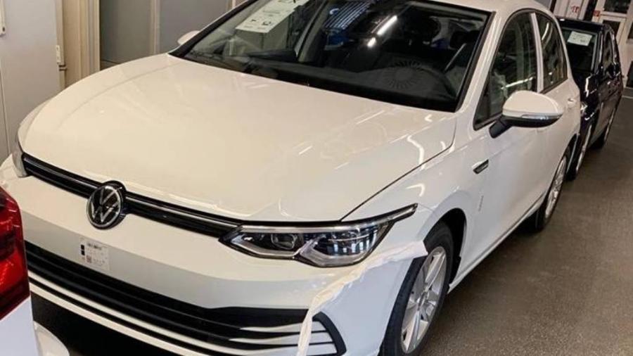 Oitava geração do Volkswagen Golf é flagrada - Reprodução
