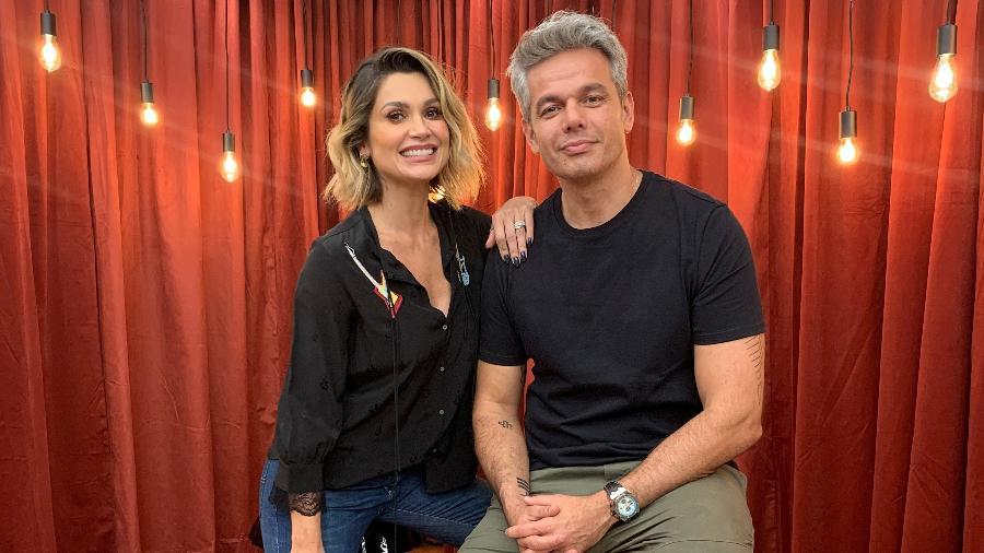 Flávia Alessandra e Otaviano Costa - Divulgação
