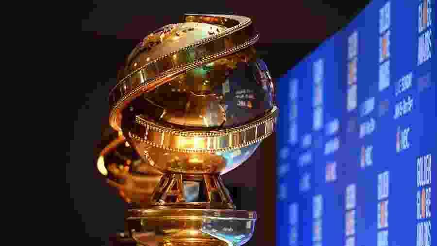 Estatueta do Globo de Ouro, no anúncio dos indicados - Robyn BECK/AFP