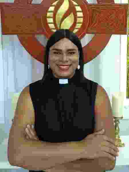A pastora Alexya Salvador - Arquivo pessoal
