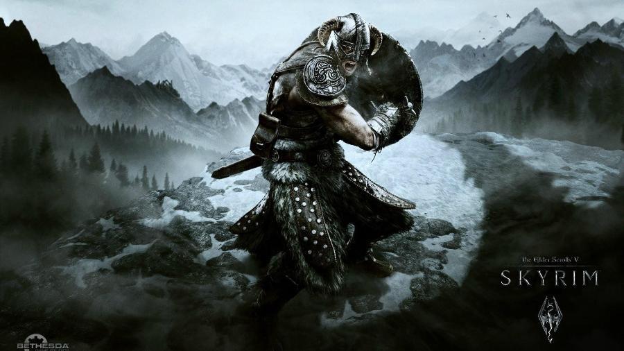 """A saga de Dovahkiin consegue entreter quem já passou centenas de horas em """"Skyrim""""? - Divulgação"""