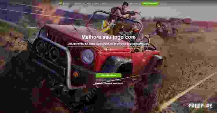 Free Fire Emulador 2 - Daniel Esdras/GameHall - Daniel Esdras/GameHall