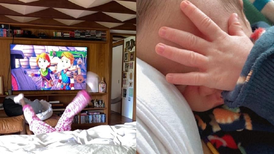 Giovanna Ewbank compartilha registro dos filhos - Reprodução/Instagram