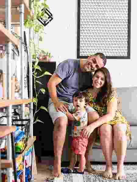 Angélica com o marido e o filho - Arquivo Pessoal - Arquivo Pessoal