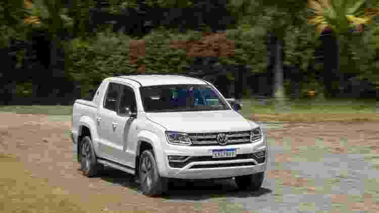 Volkswagen Amarok V6 semelhante à que publicitário diz ter sido financiada em seu nome e à sua revelia - Marcos Camargo/UOL - Marcos Camargo/UOL