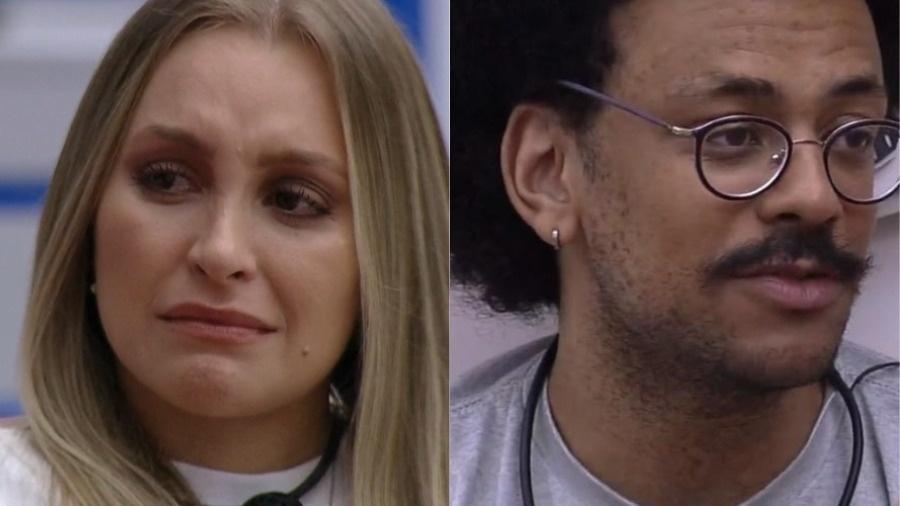 Carla Diaz e João Luiz foram indicados ao paredão falso no BBB 2021. - Reprodução/TV Globo