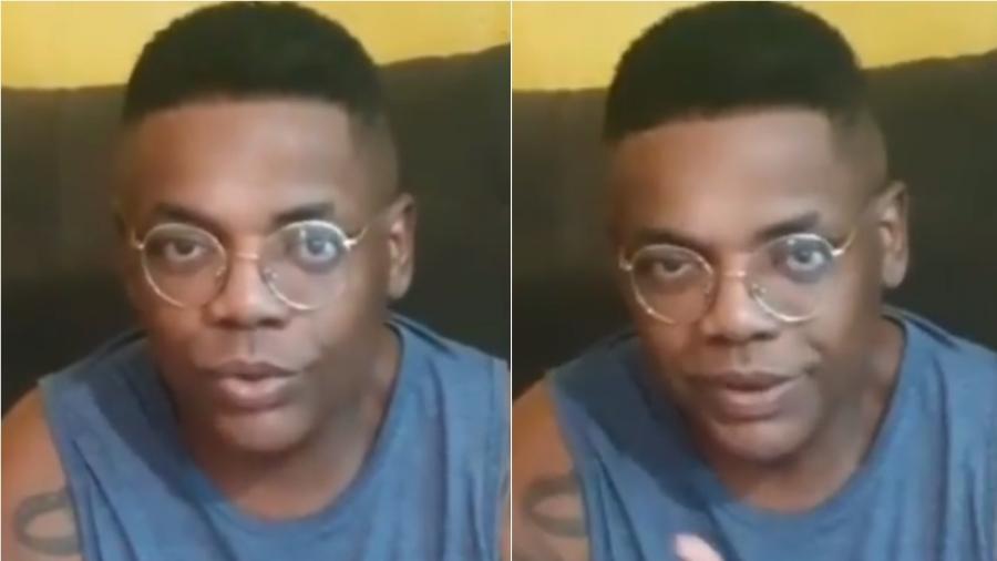 MC Marcinho grava vídeo após ter alta do hospital - Reprodução/Instagram