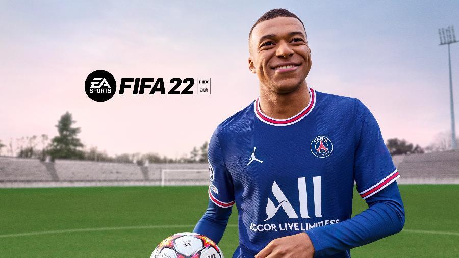 FIFA 22 será lançado no dia 1º de outubro para PlayStation 4 (PS4), PlayStation 5 (PS5), Xbox One, Xbox Series X   S, PC e Google Stadia - Divulgação/PNSStore