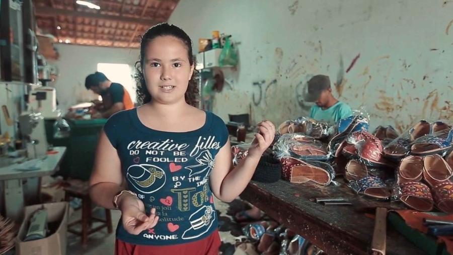 Maria Clara Oliveira, 11 anos - Acervo Pessoal