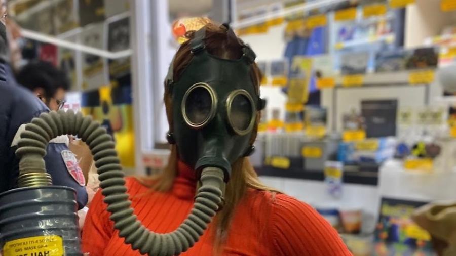 """Deborah Albuquerque, do """"Power Couple"""", em Chernobyl (Ucrânia) - Divulgação"""