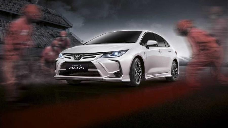 Toyota Corolla Altis Nürburgring Edition - Divulgação