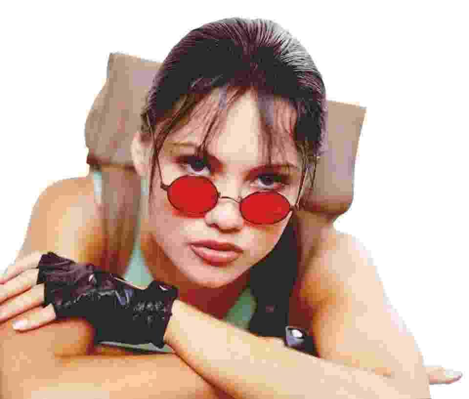 O irmão e o namorado de Ellen Rocche era apaixonados por Lara Croft e incentivaram a modelo a participar do teste - Divulgação