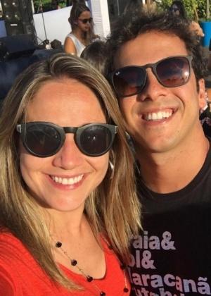 Fernanda Gentil e o ex-marido Mateus Braga - Reprodução/Instagram/gentilfernanda