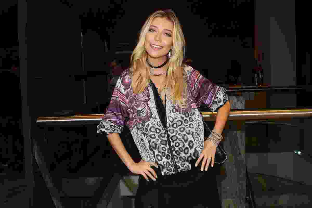 14.mar.2016 - A cantora Luiza Possi prestigiou a estriea do musical dos Mamonas Assassinas - Manuela Scarpa e Marcos Ribas/Brazil News