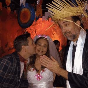 30.jun.2016 - Sônia Abrão se casa com Celso Zucatelli - Reprodução/Instagram/soniaabrao