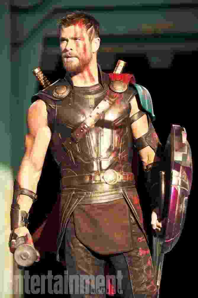"Primeiras imagens de ""Thor 3: Ragnarok"" - Entertainment Weekly"