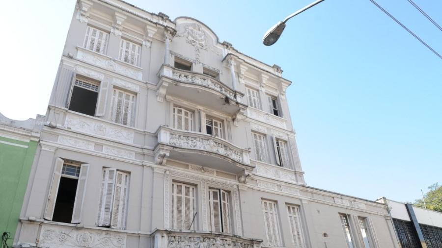 O Teatro Brasileiro de Comédia, localizado no bairro da Bela Vista, na região central de São Paulo - Daniel Wainstein/Valor/Folhapress