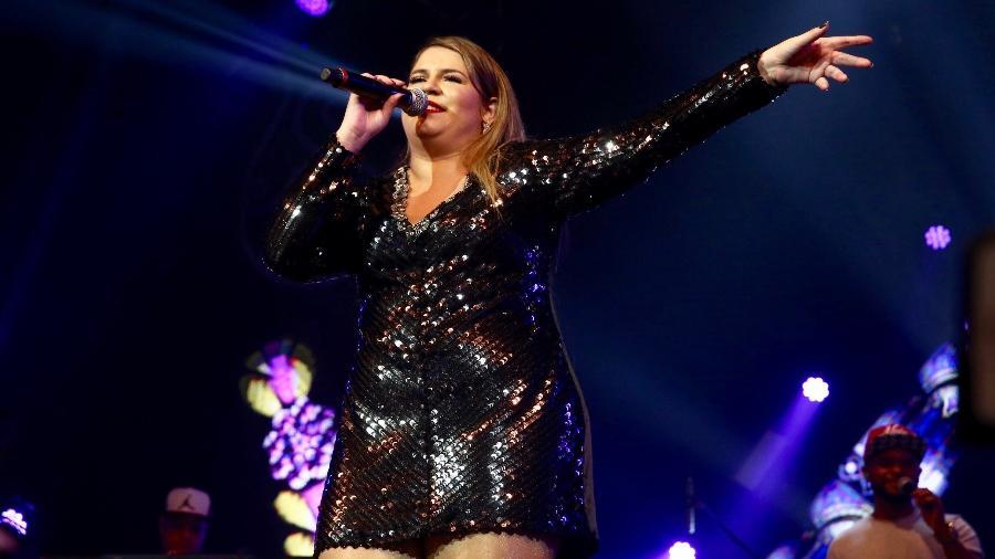 A cantora Marília Mendonça, que tem ingressos de shows vendidos pela Ticket 360 - Manuela Scarpa/Brazil News
