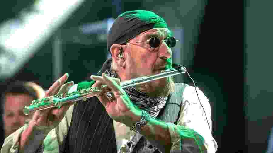 Ian Anderson, líder do Jethro Tull - Reprodução