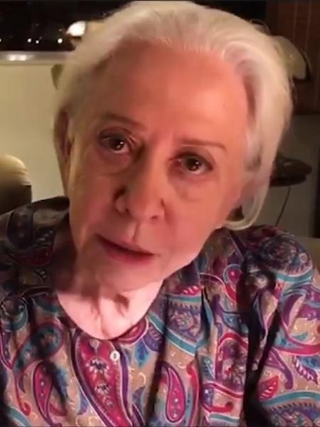 Fernanda Montenegro grava vídeo contra censura artística - Reprodução/YouTube
