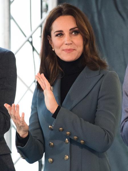 Kate Middleton e usas unhas mais do que discretas - Getty Images