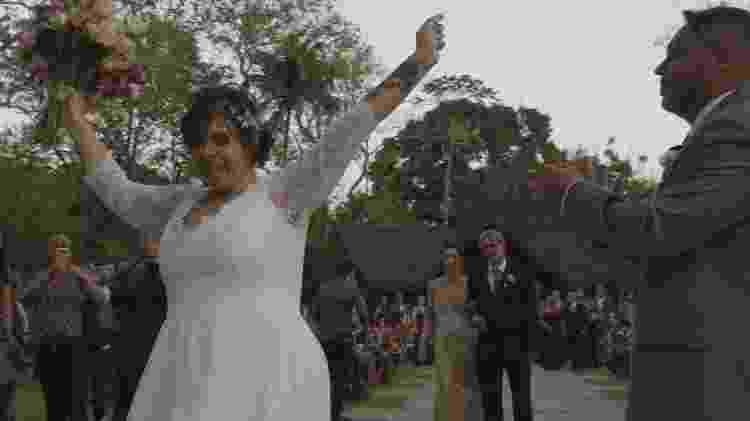 Layra Jordão no dia de seu casamento - Jobim filmes - Jobim filmes